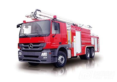 中联重科ZLJ5301JXFJP25举高喷射消防车