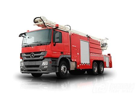 中联重科ZLJ5400JXFJP32举高喷射消防车