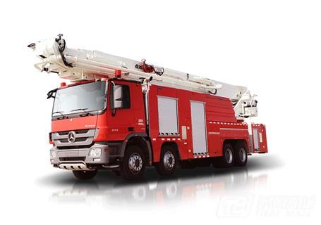 中联重科ZLJ5400JXFJP60举高喷射消防车