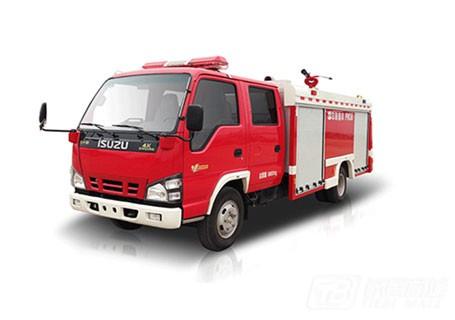 中联重科ZLJ5070GXFPM30泡沫水罐消防车