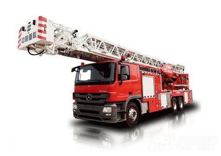 中联重科ZLJ5300JXFYT60多功能云梯消防车