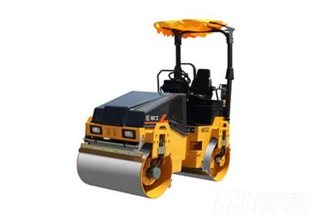 柳工CLG6032常柴单驱单振-小型养护双钢轮压路机