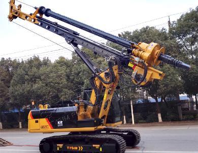 泰信机械KR90CCAT底盘小型旋挖钻机外观图3