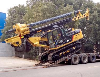 泰信机械KR90CCAT底盘小型旋挖钻机外观图4