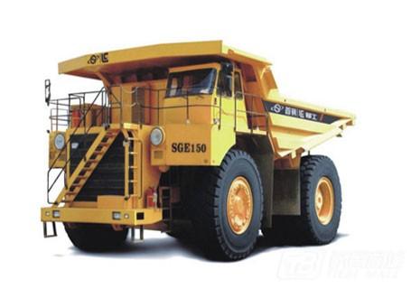 柳工SGE150直流电动轮矿用自卸车
