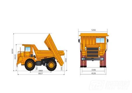 柳工SGR50C刚性自卸卡车