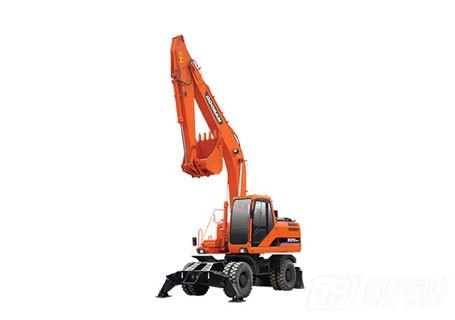 斗山DH210W-7轮式挖掘机图片