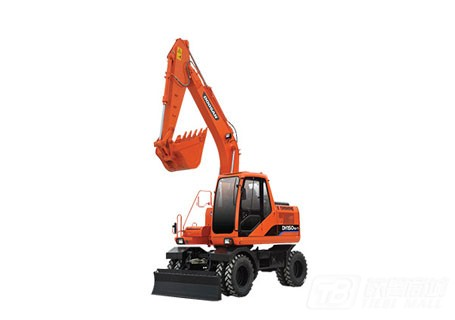 斗山DH150W-7轮式挖掘机图片