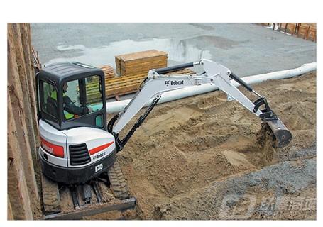 山猫E35迷你挖掘机