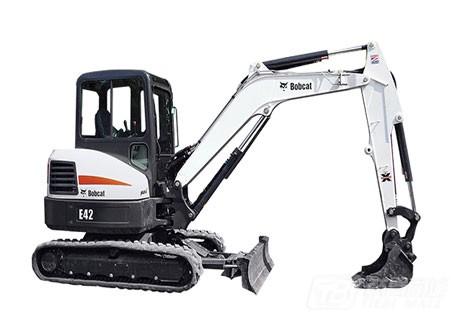 山猫E42迷你挖掘机