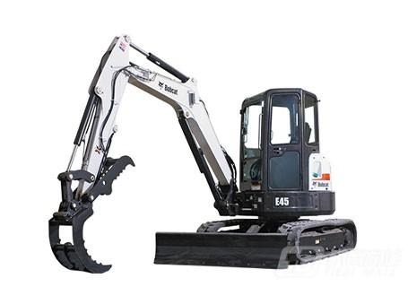 山猫E45迷你挖掘机