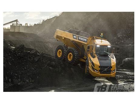 沃尔沃A40F FS铰接式自卸卡车
