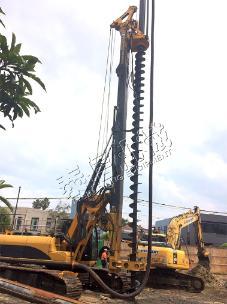 泰信机械KR160M(CFA工法)旋挖钻机外观图6