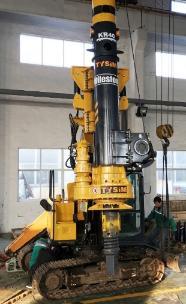 泰信机械KR40挖机改旋挖钻机