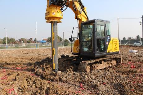 泰信机械KR40挖机改旋挖钻机外观图6