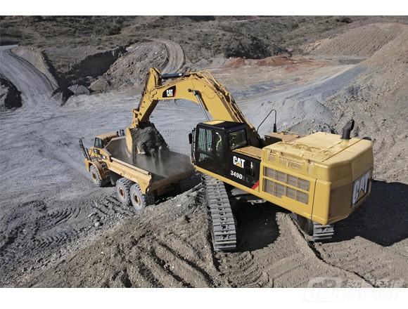 卡特彼勒349D2/D2L挖掘机