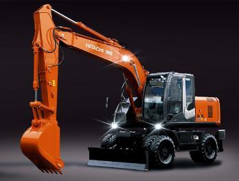 原装日立ZX170W-3轮式挖掘机