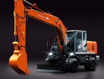 原装日立ZX190W-3轮式挖掘机