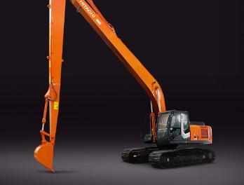 原装日立ZX240LC-3(H18)长臂挖掘机长臂挖掘机