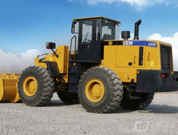 山工SEM652D轮式装载机