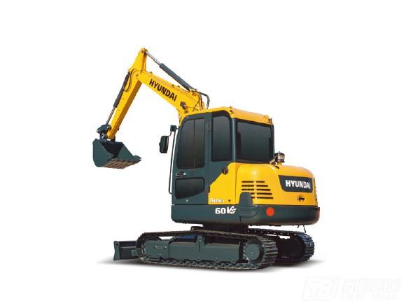 现代R60VS履带挖掘机