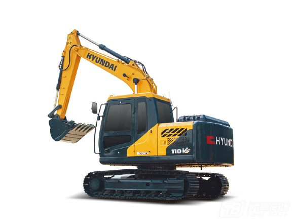 现代R110VS履带挖掘机