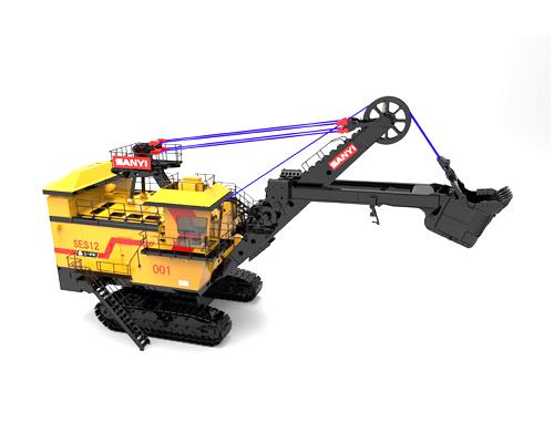 三一SES12矿用电铲