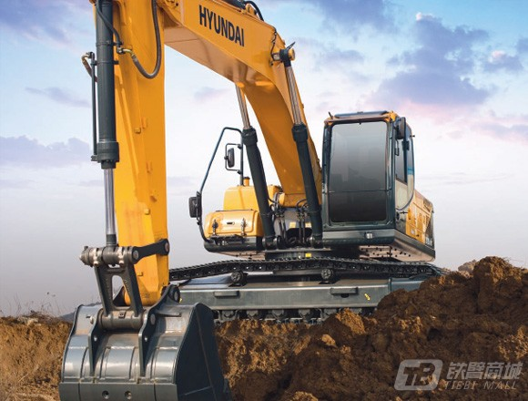 现代R275LVS履带挖掘机