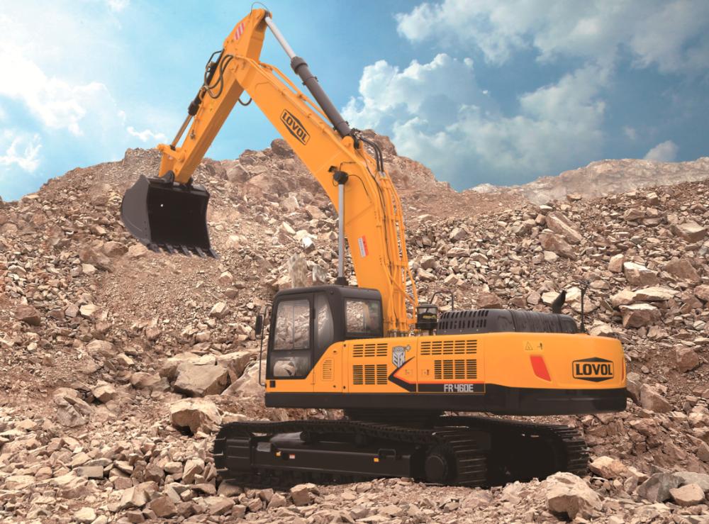雷沃重工FR460E履带挖掘机