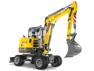 威克诺森6503轮式挖掘机