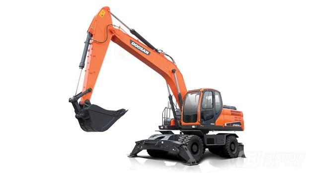 斗山DX210W-9C轮式挖掘机