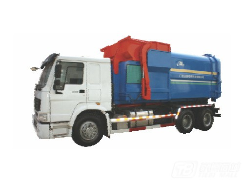 玉柴专汽YCNH6085/YCNH6115垃圾车