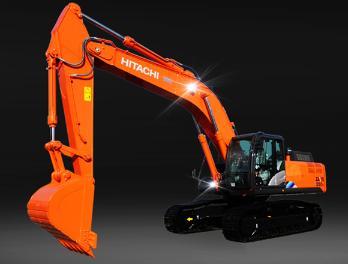 永立建机ZX350K-5A特种挖掘机