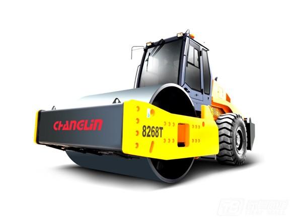 常林公司8268T单钢轮压路机