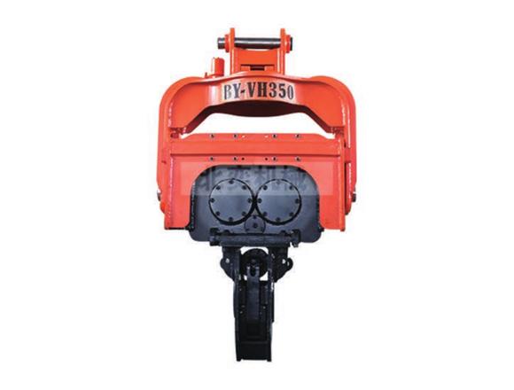 北奕机械BY-VH350振动液压打桩机