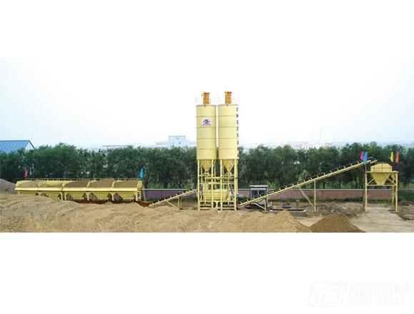 吉公WBM系列稳定土搅拌设备稳定土厂拌设备图片