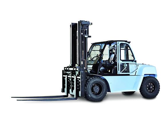 优特力UT80-100P内燃平衡重叉车