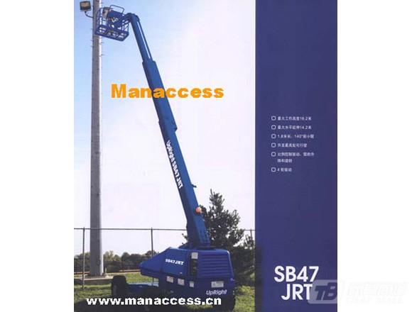 曼克斯SB47JRT自行式直臂升降平台