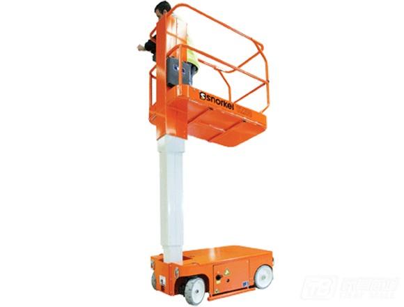 普雷斯特TM12电动自走桅柱式高空作业平台