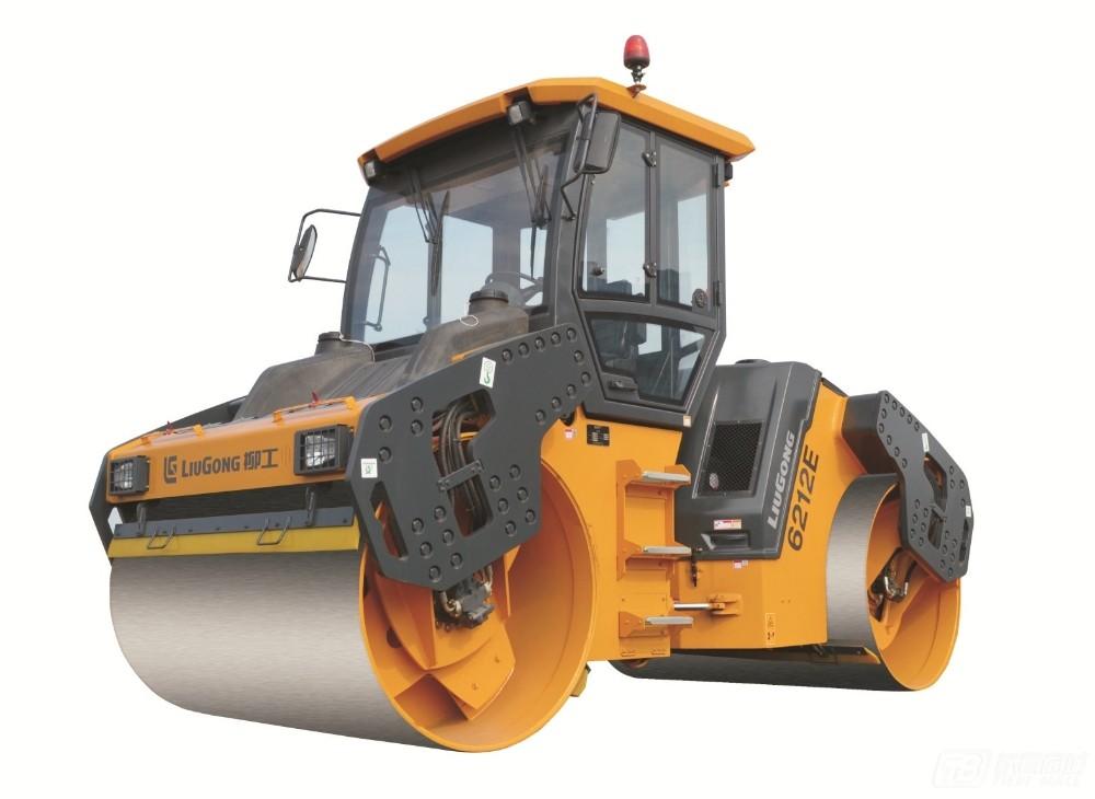 柳工CLG6213E双钢轮压路机