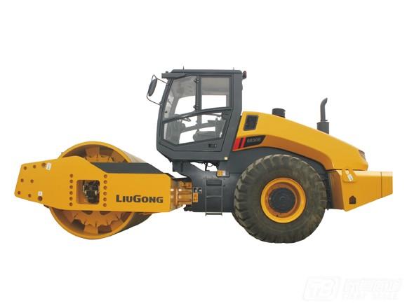 柳工CLG6630E全液压单钢轮压路机