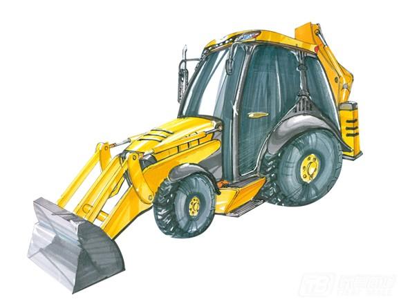 雷道LD8800挖掘装载机