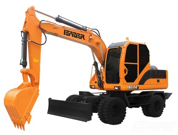雷道LD135E轮式挖掘机