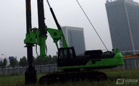 泰信机械KR285CCAT底盘旋挖钻机