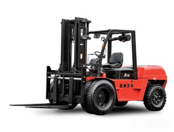 杭叉CPCD75-AG58-S内燃平衡重叉车