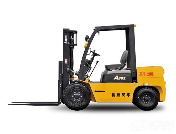 杭叉A系列3-10吨出租叉车内燃平衡重叉车