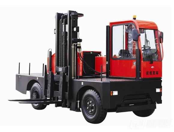 杭叉侧面叉车3-6吨内燃平衡重叉车