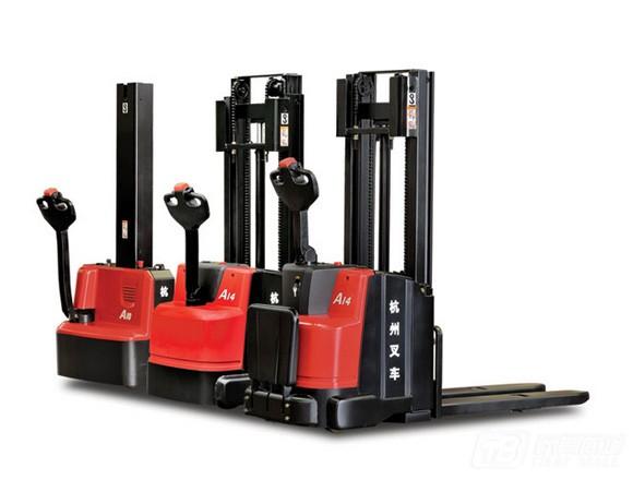 杭叉A系列1-1.6吨电动堆垛车电动叉车