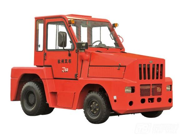 杭叉内燃3.5-8吨牵引车公路牵引车