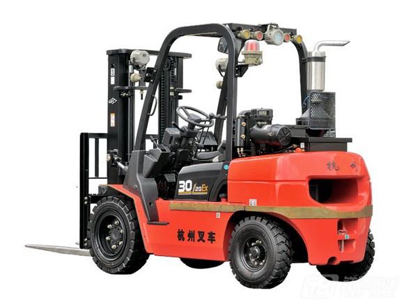 杭叉R系列2-3.5吨内燃防爆叉车内燃平衡重叉车